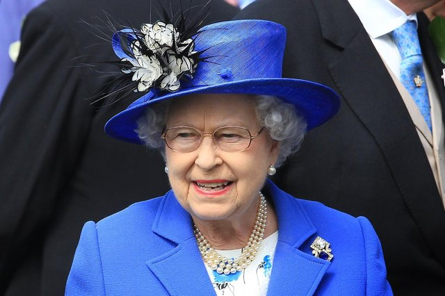The Queen will stay in Edinburgh for the week.