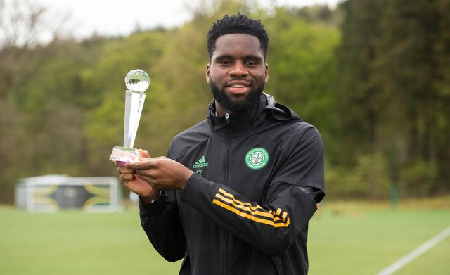 Celtic striker Odsonne Edouard is likely to leave the club this summer. Picture: SNS