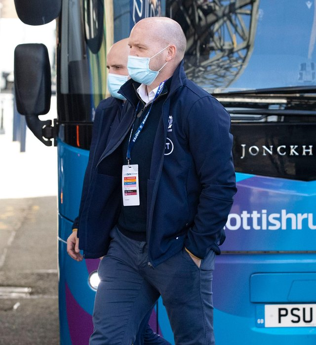 Scotland head coach Gregor Townsend. Picture: Craig Williamson / SNS