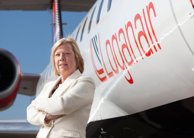 Loganair chief commercial officer Kay Ryan said the expansion had been delayed by the Covid pandemic