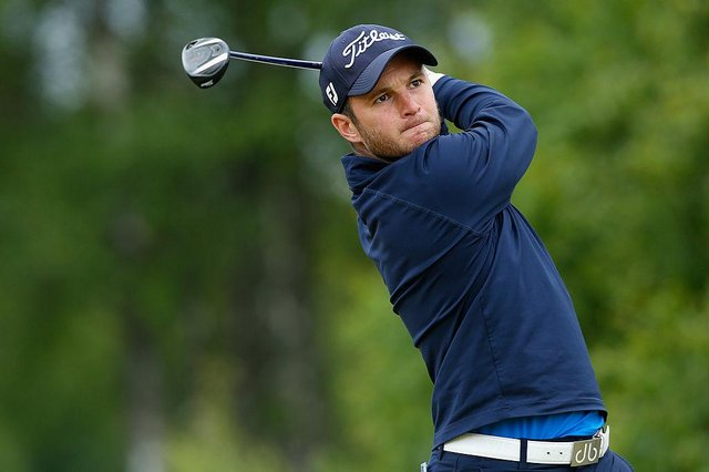 Michael Stewart won the fourth bunkered Get Back to Golf Tour event of the 2021 campaign at Prestwick St Nicholas. Picture: Harry Engels/Getty Images.