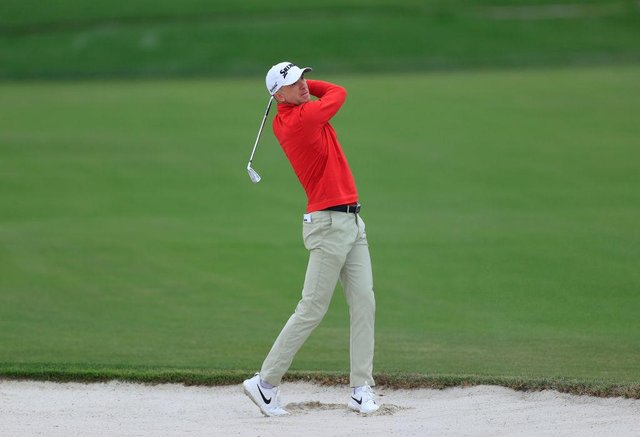 Martin Laird plays a shot from a bunker on on the 11th hole during the first round of the Arnold Palmer Invitational Presented by MasterCard at the Bay Hill Club and Lodge in Orlando, Florida. Picture: Sam Greenwood/Getty Images.