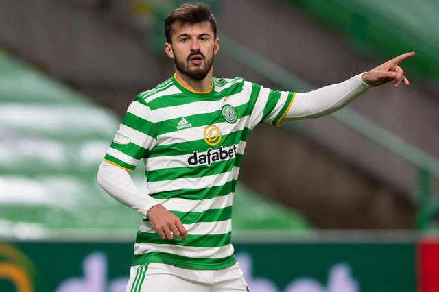 Striker Albian Ajeti's miserable debut season for Celtic took another twist when he was left out of the squad for the 1-1 draw with Rangers. (Photo by Craig Foy / SNS Group)