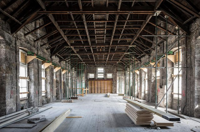 The Edinburgh Futures Institute takes shape, photo by Keith Hunter