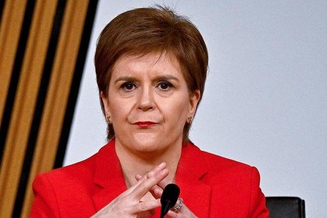 Nicola Sturgeon's seat may be under threat, writes Brian Monteith. (Picture: Jeff J Mitchell/PA Wire)