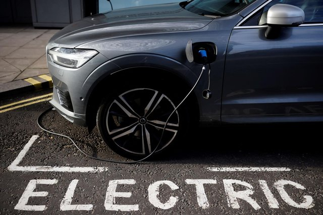 The number of new solely electric vehicles registered to private individuals across the UK has risen by 53 per cent in 12 months