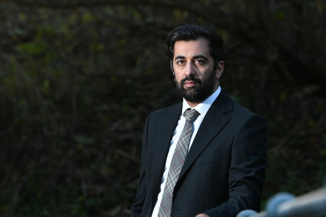 Humza Yousaf, Cabinet Secretary for Justice.