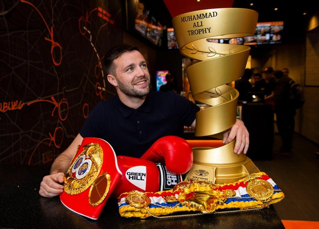 Josh Taylor lays his titles on the line tonight at an empty York Hall.