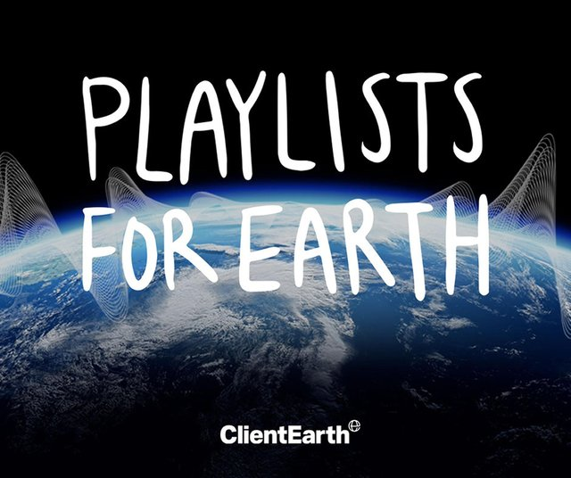 Coldplay, Brian Eno and Anna Calvi have joined a campaign using playlists to encourage action against climate change.