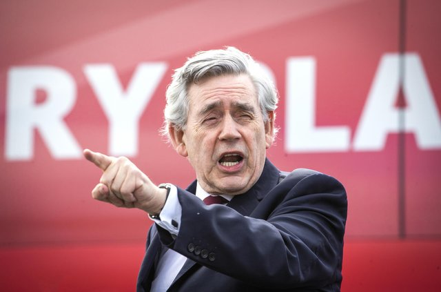 Former prime minister Gordon Brown warned of 50 years of conflict between England and Scotland.