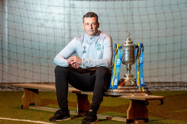 Having taken his team to the semi-finals last time,  Hibs boss Jack Ross would love to go all the way in this season's Scottish Cup compettion. Photo by Mark Scates / SNS Group