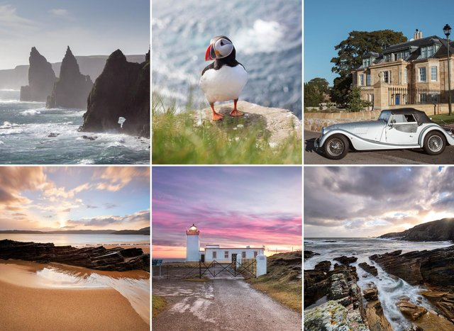 The North Coast 500 in Scotland makes for an incredible roadtrip in the Highland wilderness.