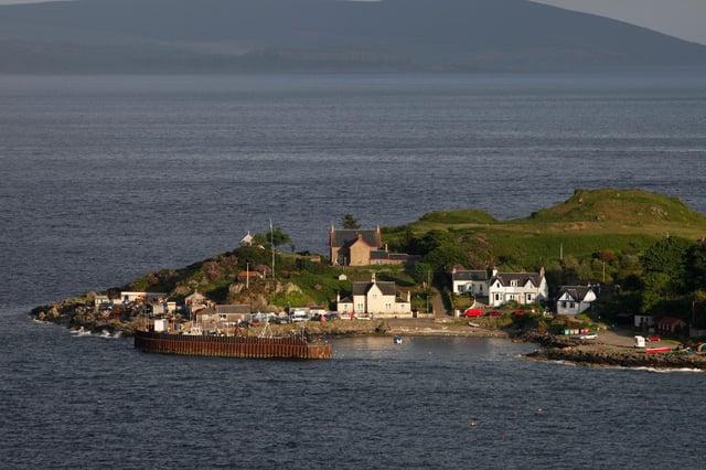 Carradale on Kilbrannan Sound, Kintyre, Argyll.