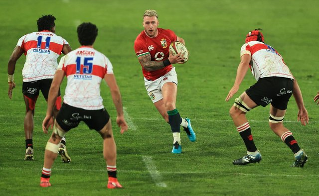 Stuart Hogg captained the British and Irish Lions to victory over the Sigma Lions in the tour opener. Picture: David Rogers/Getty Images