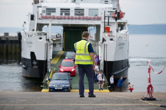 """The RMT has described CalMac's pay offer as """"derisory"""". Picture: John Devlin"""