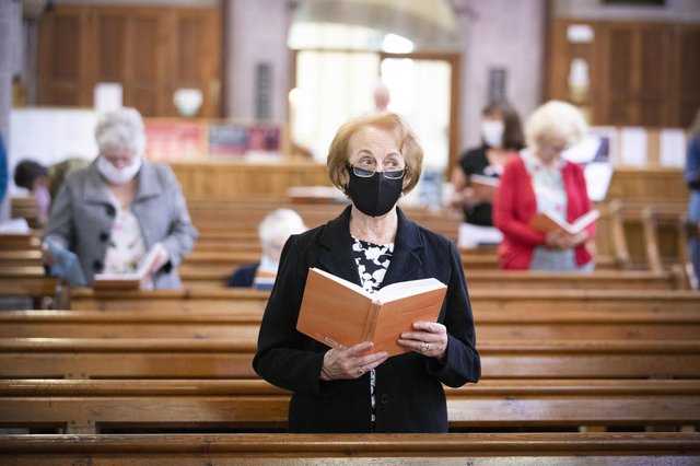 The Scottish Governmentbannedfollowers ofany religion from attending their place of worship in an effort to control the spread of the coronavirus