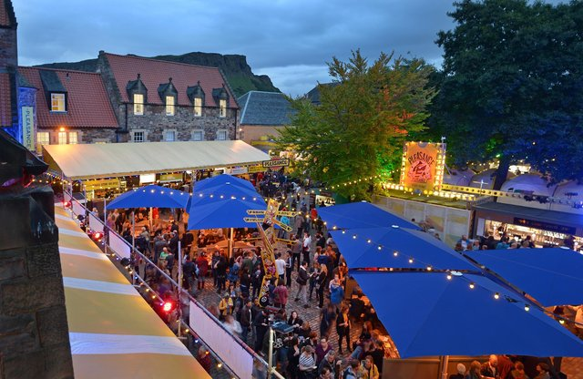 The Pleasance Courtyard could still spring to life in August - despite the official cancellation of the Fringe.