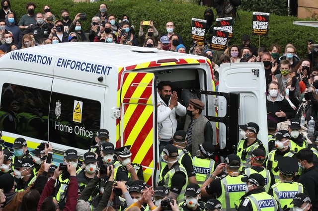 Home Office immigration system 'barbaric', says campaigning lawyer after Glasgow raid