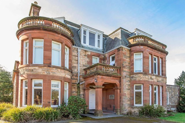 The staff accommodation building, which consists of 18 bedrooms over four-storeys, is surplus to requirements and has been placed on the market. Picture: Property Studios