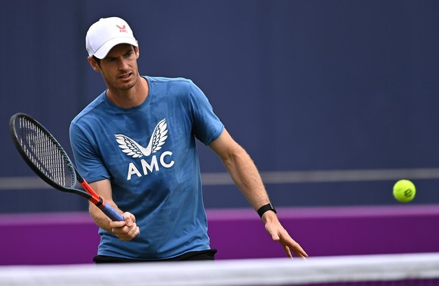 Andy Murray has received a Wimbledon wild card and is looking forward to his first men's singles appearance at SW19 since 2018. Picture: Tony O'Brien/Getty Images