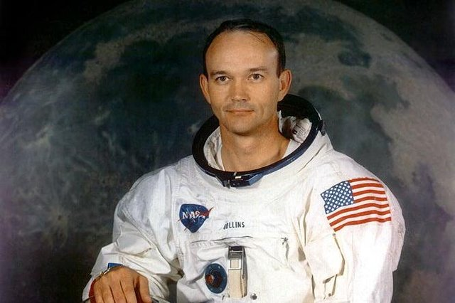 Michael Collins flew on Apollo 11 where he served as the command module pilot.