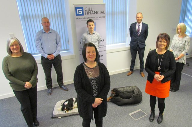 All shares in Montrose-based Gill Financial have now been placed into an employee ownership trust, with seven staff becoming direct beneficiaries of the partnership.