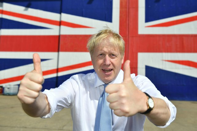 Boris Johnson's government is dragging Scotland in directions it has not chosen to travel, but independence supporters must be patient and keep working to win over more voters to their cause (Picture: Dominic Lipinski/WPA pool/Getty Images)