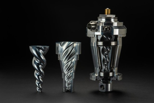 Edinburgh-based industry disruptor Vert Technologies is behind a conical rotary compressor that is fully proven and patented. Picture: Paul Bock Photography