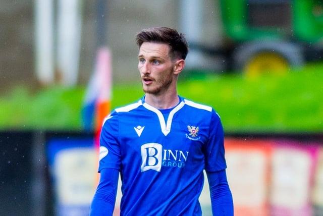 Scott Tanser has joined St Mirren