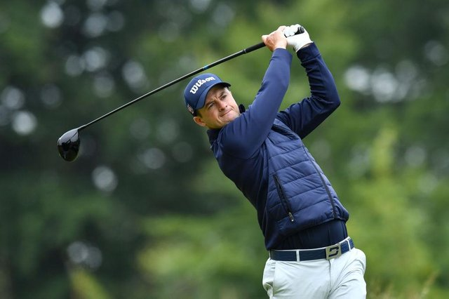 David Law in action during the second round of the abrdn Scottish Open at The Renaissance Club. Picture: Mark Runnacles/Getty Images.