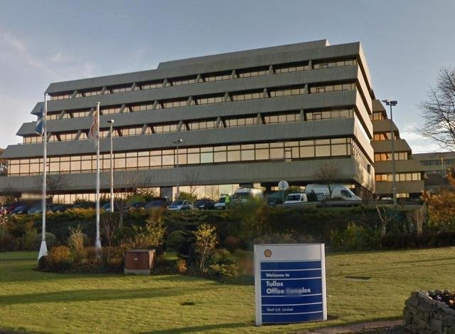Shell office building in Aberdeen picture: JPI Media
