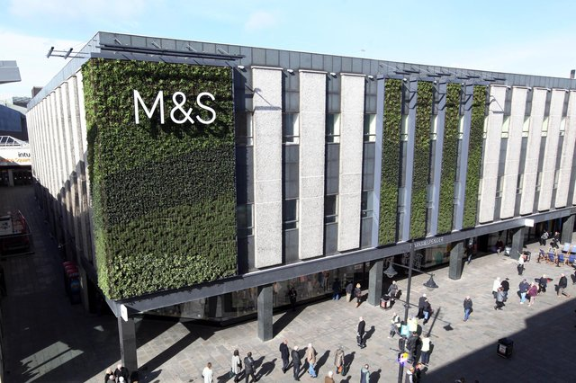 M&S is expected to report a dive in clothing and home sales after being battered by the enforced closure of stores for many months.