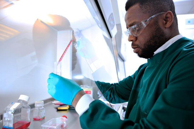 The firm highlights the 'world-class' drug discovery effort going on in Aberdeen. Picture: Lewis J Houghton.