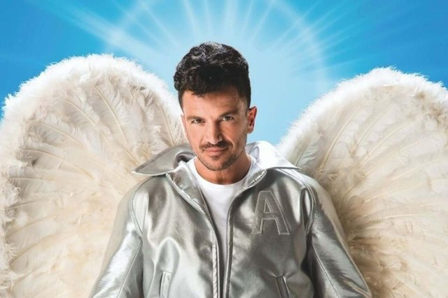 Peter Andre as Teen Angel in Grease