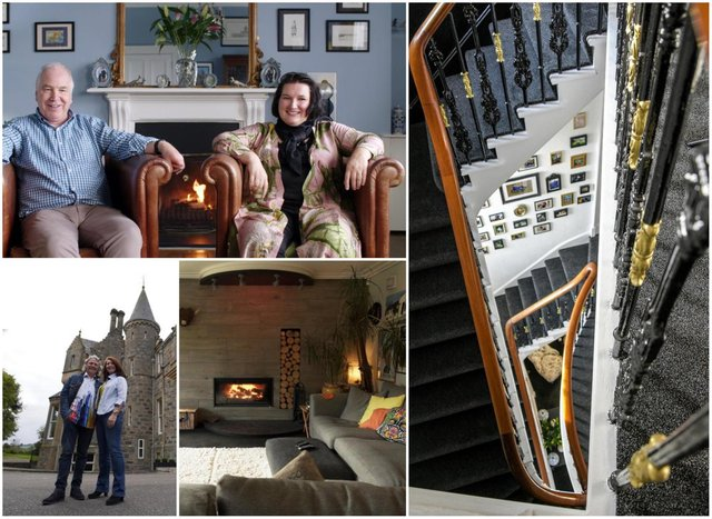 SHOTY: Judges Kate Spiers, Anna Campbell-Jones and Michael Angus were fascinated by the eclectic Highland homes on display on the BBC series. Pictures: BBC