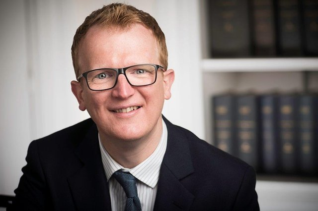 Richard Pugh is the Clerk of Faculty at the Faculty of Advocates