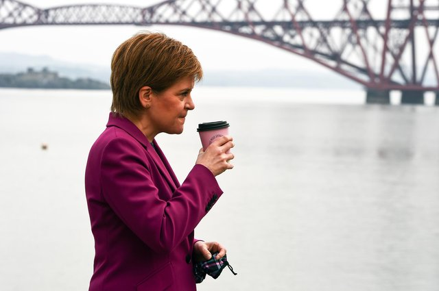 Scotland's First Minister Nicola Sturgeon is set to be leading another minority government after May's elections.
