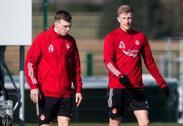 Lewis Ferguson and Ross McCrorie are reportedly attracting interest. Picture: SNS