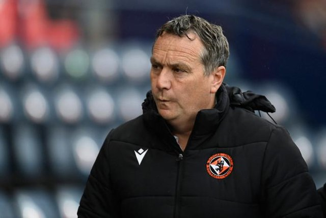 Dundee Utd Manager Micky Mellon. (Photo by Rob Casey / SNS Group)