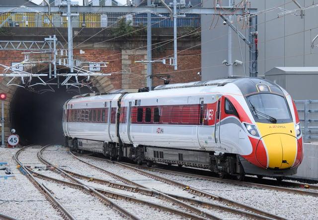 An LNER Azuma train arriving at London King's Cross. Picture: Matt Crossick/PA Wire