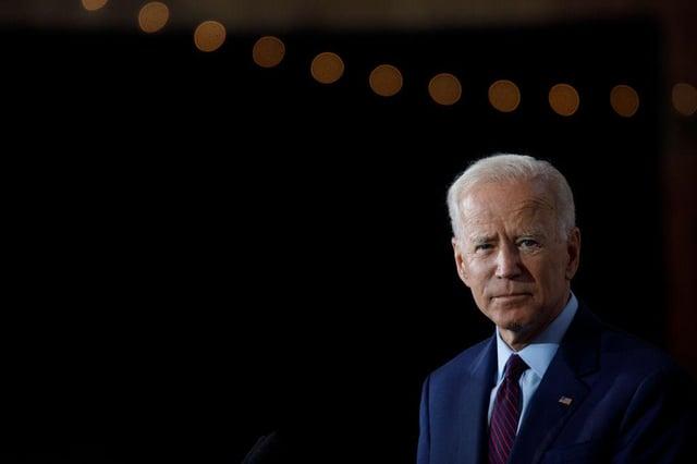 Boris Johnson was asked whether he thought Joe Biden was 'woke' (Getty Images)