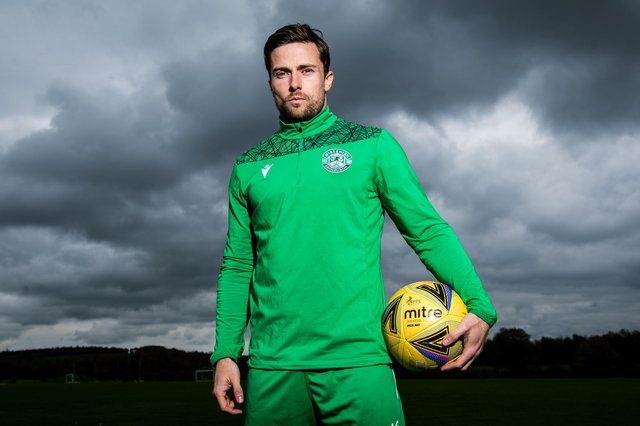 Hibs defender Lewis Stevenson says current season has been one to savour despite playing fewer games than in previous years. Photo by Ross Parker / SNS Group