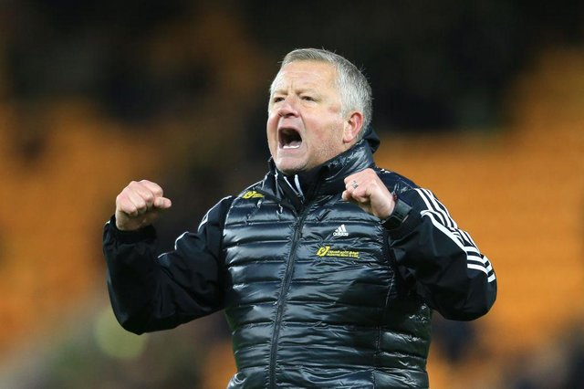 """Chris Wilder has been backed as the """"perfect choice"""" for the Celtic job. Picture: Getty"""