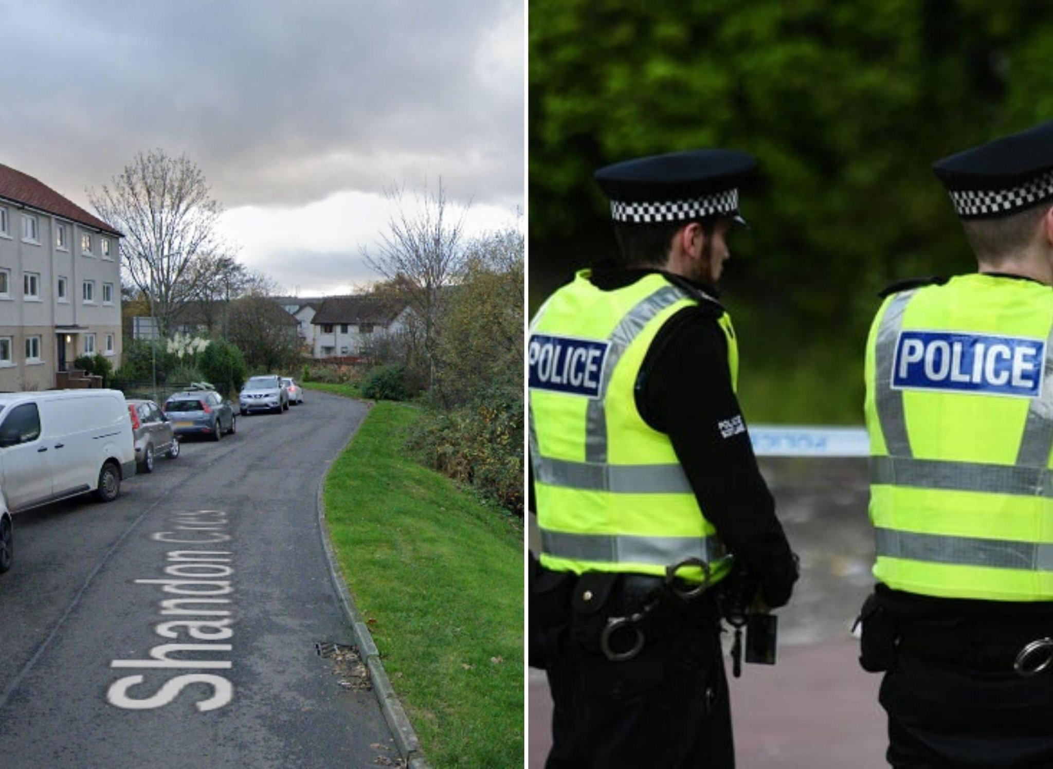 Two men arrested after around £178,000 of drugs recovered by police in Scottish village