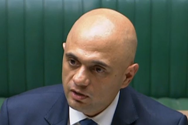 Health Secretary Sajid Javid confirmed the easing to MPs on Monday afternoon.