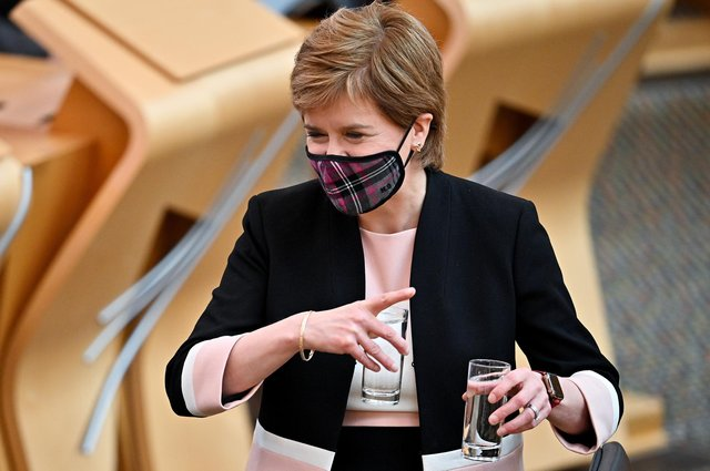 The First Minister seems to have less to say on Covid of late, reckons reader (Picture: Jeff J Mitchell/Getty Images)