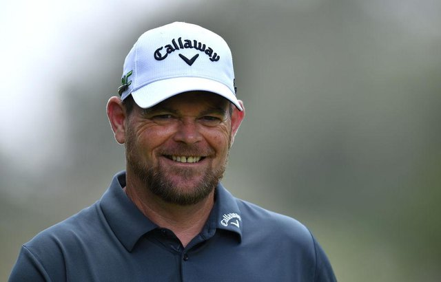 David Drysdale flashes a huge smile on his way to a six-under-par 65 in the second round of the Kenya Savannah Classic at Karen Country Club in Nairobi. Picture: Stuart Franklin/Getty Images.