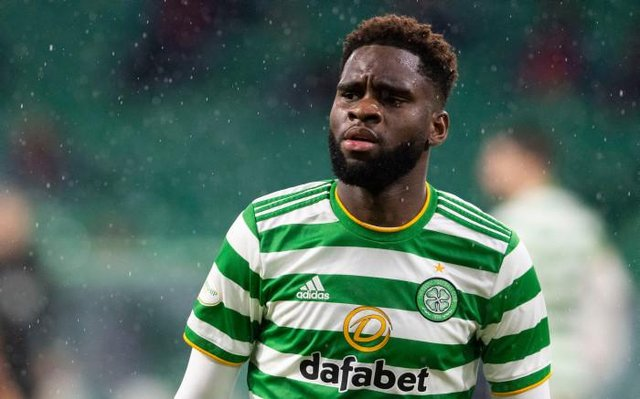 Odsonne Edouard in action for Celtic during a Scottish Premiership match between Celtic and Kilmarnock at Celtic Park, on December 13, 2020, in Glasgow, Scotland.(Photo by Craig Foy / SNS Group)