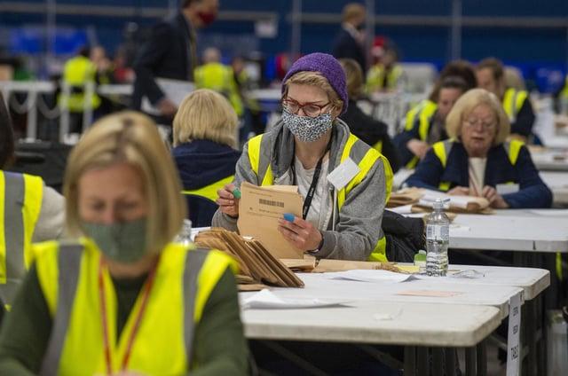 Scotland Election 2021: Edinburgh and the Lothians results (photo by Lisa Ferguson)