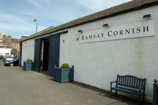 Owners of Ramsay Cornish  Auction House, Jane Street, Edinburgh, removed a medieval skull from auction after concerns were raised about the sale of human remains. PIC: TSPL.